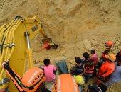 محاولات رجال الإنقاذ فى الفلبين