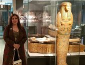 السفيرة المصرية فى النرويج فى حفل افتتاح المعرض