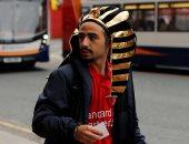 مشجع بالزى المصرى لدعم محمد صلاح