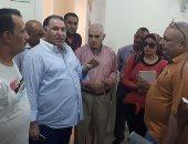 محمد فودة يتفقد مستشفى فودة الخيرى