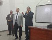 الدكتور حسين المغربى القائم بعمل رئيس جامعه بنها