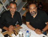 عماد صفوت محرر اليوم السابع مع المخرج تامر محسن