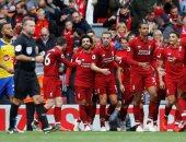 ليفربول متصدر الدوري الانجليزي