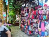 """""""زنقة الستات"""" أشهر سوق بالإسكندرية"""