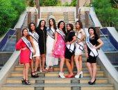 الجولة النيلية لملكات جمال العرب
