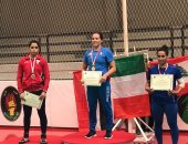 المصارعة النسائية فى البطولة الدولية