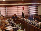 جانب من الاجتماع برئاسة اللواء محمد يوسف