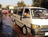 مياه الصرف الصحى بمدخل مدينة أبوصوير فى الإسماعيلية