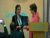 ريستينا ألبرتن الممثل الإقليمى لمكتب الأمم المتحدة