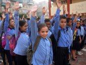 طلاب مصر يعودون للدراسة