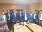 النائب محمد الحسينى يلتقى وزير الشباب