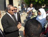 جانب من جولة رئيس جامعة الأزهر