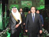 السفير أسامة بن أحمد نقلى يستقبل المهندس مصطفى مدبولى رئيس الوزراء