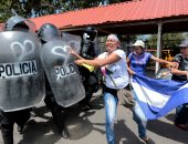 اشتباكات بين الشرطة ومتظاهرين فى نيكاراجوا