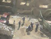 حملة لإزالة القمامة من منطقة السينما بمدينة نصر