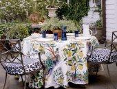اكسسوارات للطاولة فى الخارج