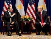 الرئيس عبد الفتاح السيسى والرئيس الأمريكى دونالد ترامب