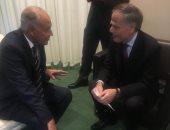 لقاء بين أبو الغيط و وزير خارجية إيطاليا