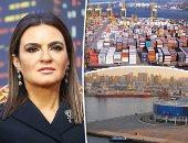 الدكتورة سحر نصر وزيرة الاستثمار ومحسن عادل