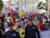 مظاهرات فى بولندا