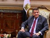 النائب طارق رضوان رئيس لجنة الشئون الإفريقية بمجلس النواب
