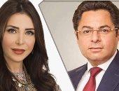 الإعلامى خالد أبو بكر والإعلامية لبنى عسل