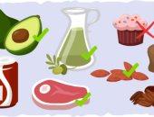 أطعمة مسموحة وممنوعة لخفض الدهون الثلاثية-ارشيفية