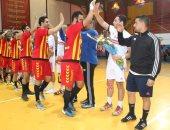 مباراة الزمالك والترجى التونسى لكرة اليد