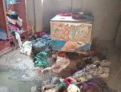 مأساة أسرة من 10 أفراد تعيش داخل خيمة فى القليوبية