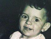 دعاء فاروق فى طفولتها