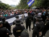 شرطة جواتيمالا أمام مهاجرو هندوراس