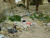 انتشار القمامة بالتجمع الخامس