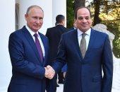 الرئيس عبد الفتاح السيسي و نظيره الروسى