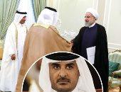روحانى يستقبل سفير قطر الجديد لدى طهران وتميم بن حمد