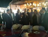 محافظ جنوب سيناء مع وفد مستقبل وطن فى شرم الشيخ
