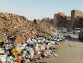 القمامة تحاصر مدخل عزبة الهجانة