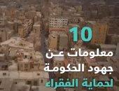 10 معلومات عن جهود الحكومة لحماية الفقراء