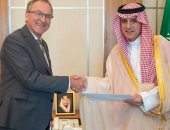 وزير الخارجية السعودى يستقبل سفير ألمانيا