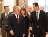 بشار الأسد مع الوفد الروسى