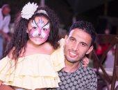 محمد ناجى جدو وأبنته تاليا