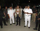 اللواء محمد على حسين مدير أمن الإسماعيلية خلال الحملة