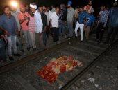 حادث دهس قطار لمواطنين شمال الهند