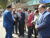 جولة اللواء أحمد راشد محافظ الجيزة
