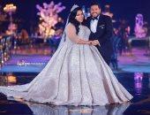 حفل زفاف الفنانة شيماء سيف والمنتج محمد كارتر