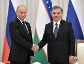 بوتين والرئيس الأوزبكى شوكت ميرضيايف