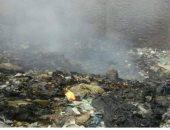 القمامة التى تحترق يوميا وتخنق المواطنين