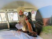 إسعاف مصابى الهند