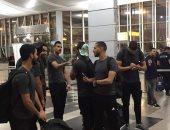 بعثة المصري تغادر إلى القاهرة