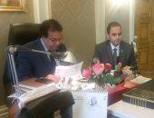 وزير التعليم العالى يبحث آليات التعاون مع رئيس شركة هواوي بمصر