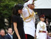 الأمير هارى وزوجته يفتتحان النصب التذكارى